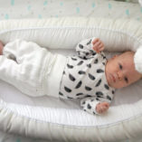 Vauva viihtyy Bebiboo unipesässä